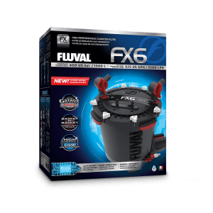 Fluval FX6 Canister Filter packaging
