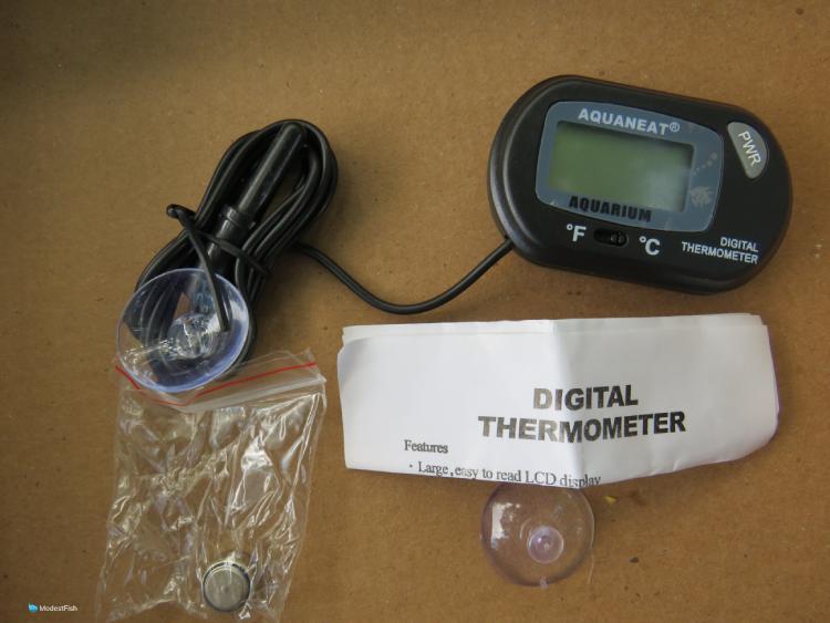 2. AQUANEAT Aquarium Thermometer