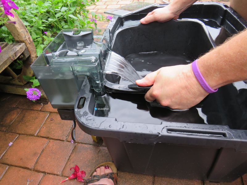 AquaClear HOB filter GPH testing